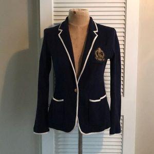 Ralph Lauren Cotton Nautical Blazer